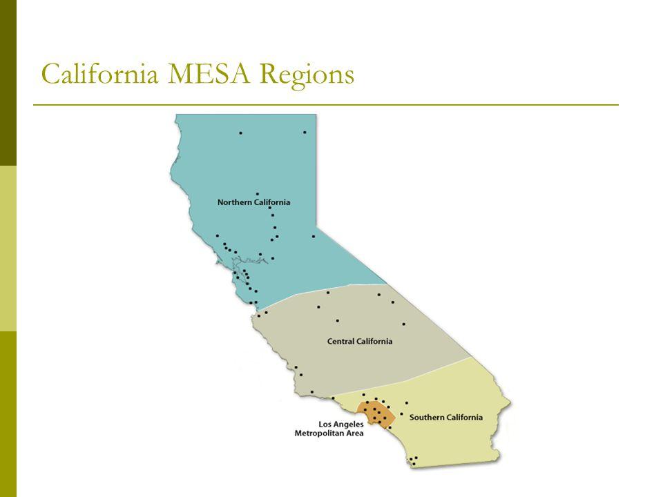 California MESA Regions