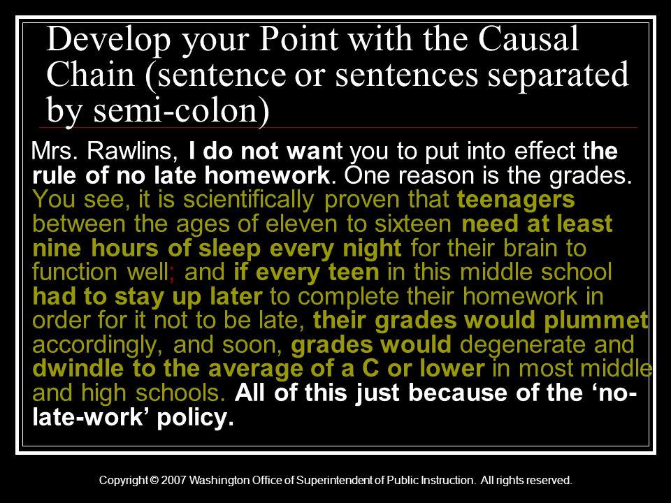 Copyright © 2007 Washington Office of Superintendent of Public Instruction.