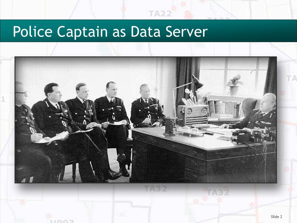 Slide 2 Police Captain as Data Server