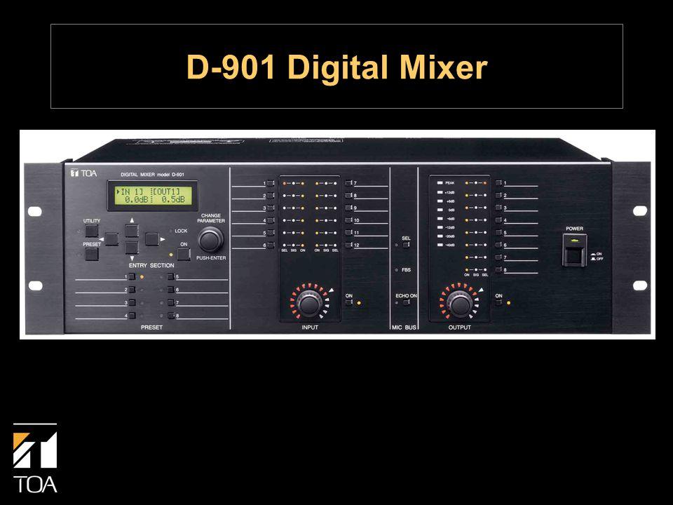 D-901 Digital Mixer