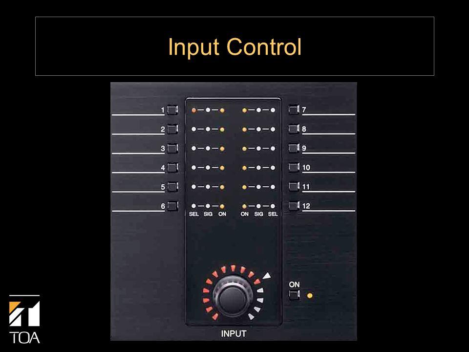 Input Control
