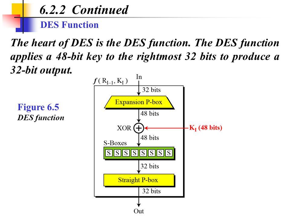 Triple-DES (II) EDE Mode: DES Encrypt-Decrypt-Encrypt with two keys K 1, & K 2 Properties: Two keys (112 bits) Strength O(2 110 ) against Meet-in-the-Middle Compatible with regular DES when K 1 = K 2