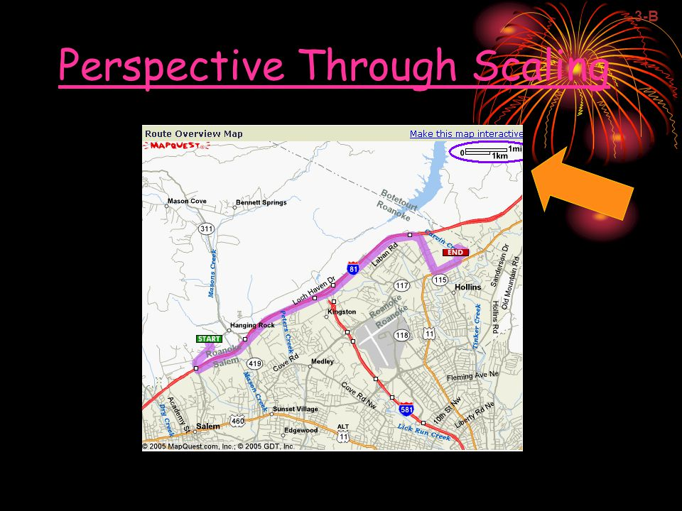 Perspective Through Scaling 3-B