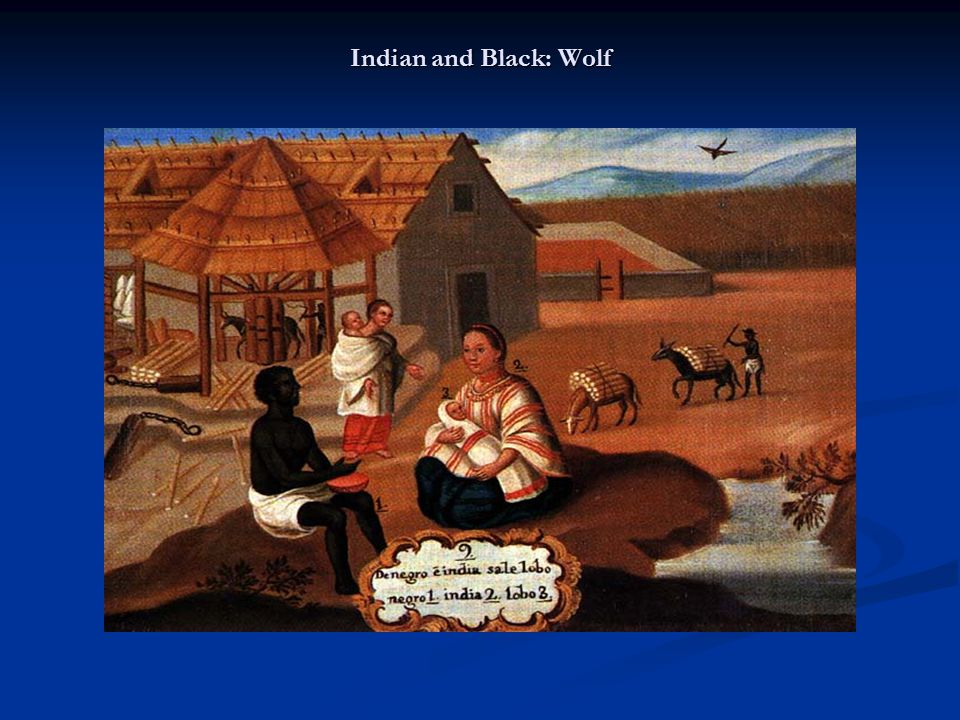 Indian and Black: Wolf