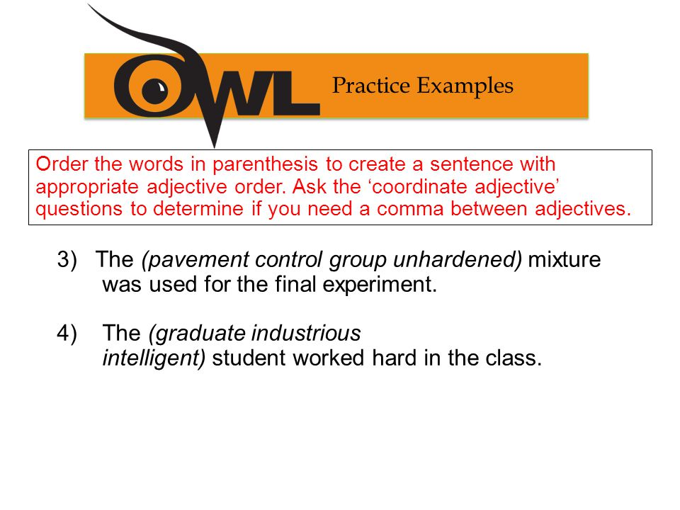 Practice Answers 3) The unhardened pavement control group physical descript.