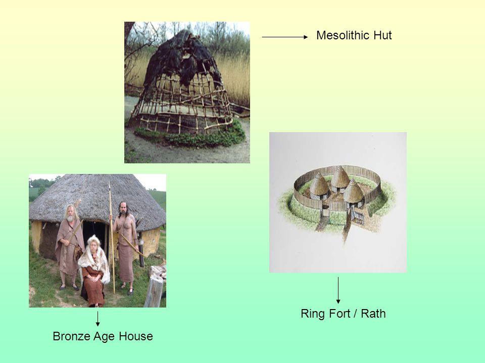 Mesolithic Stone Age 7000 BC . 4000 BC Bronze Age 2000 BC .