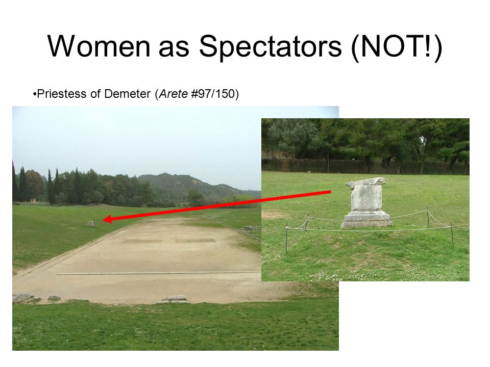 Women as Athletic Benefactors: Tatia CIG XVII, 3953c from Asia Minor (Turkey) The council and the people and the senate honored Tatia, who was the dau