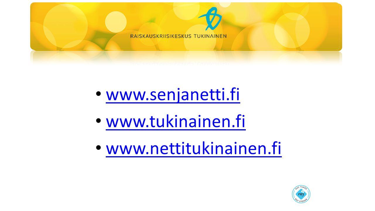 www.senjanetti.fi www.tukinainen.fi www.nettitukinainen.fi