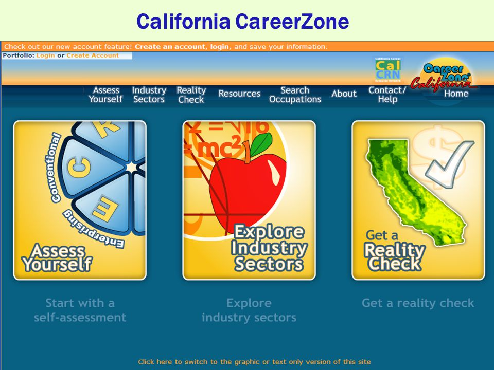 California CareerZone