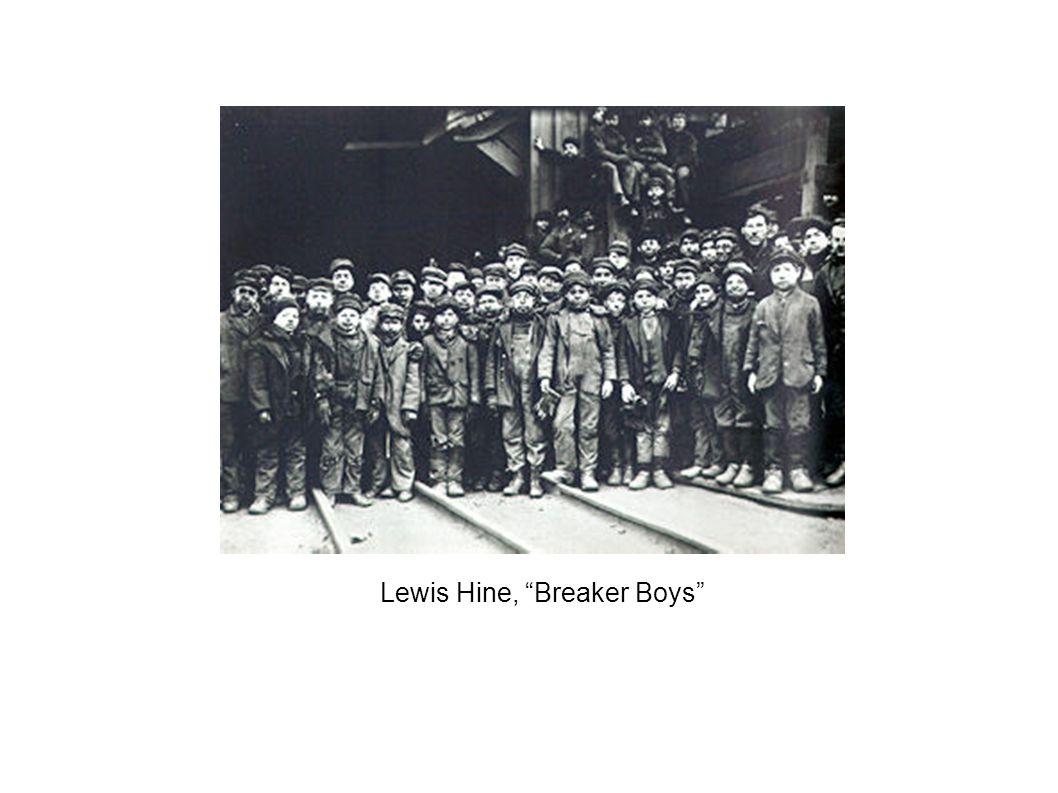 Lewis Hine, Breaker Boys