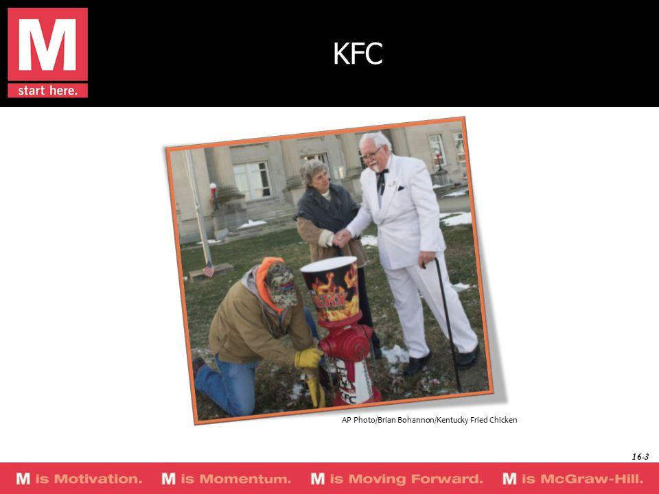 KFC AP Photo/Brian Bohannon/Kentucky Fried Chicken 16-3
