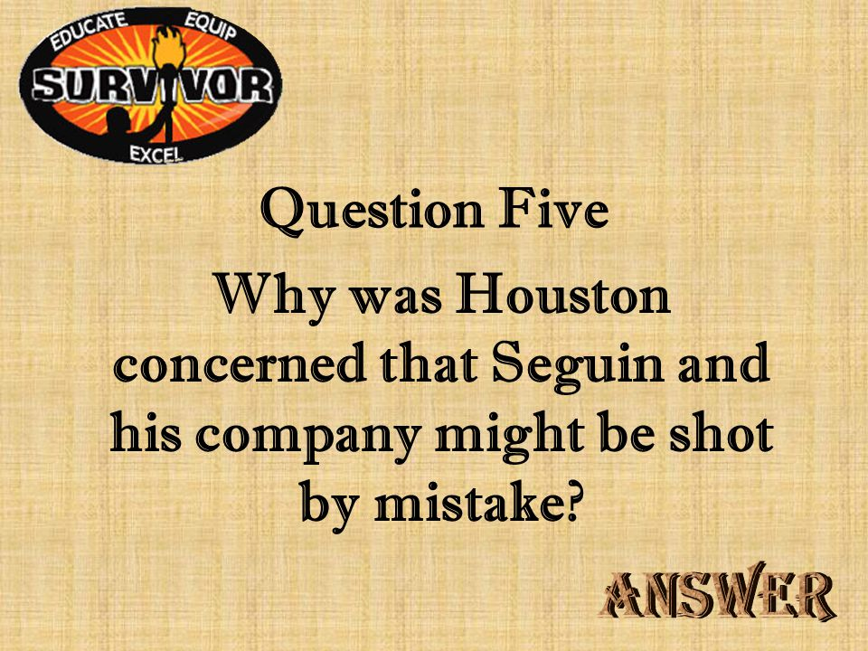 Challenge Four Why did Houston's troops easily defeat Santa Anna at San Jacinto?