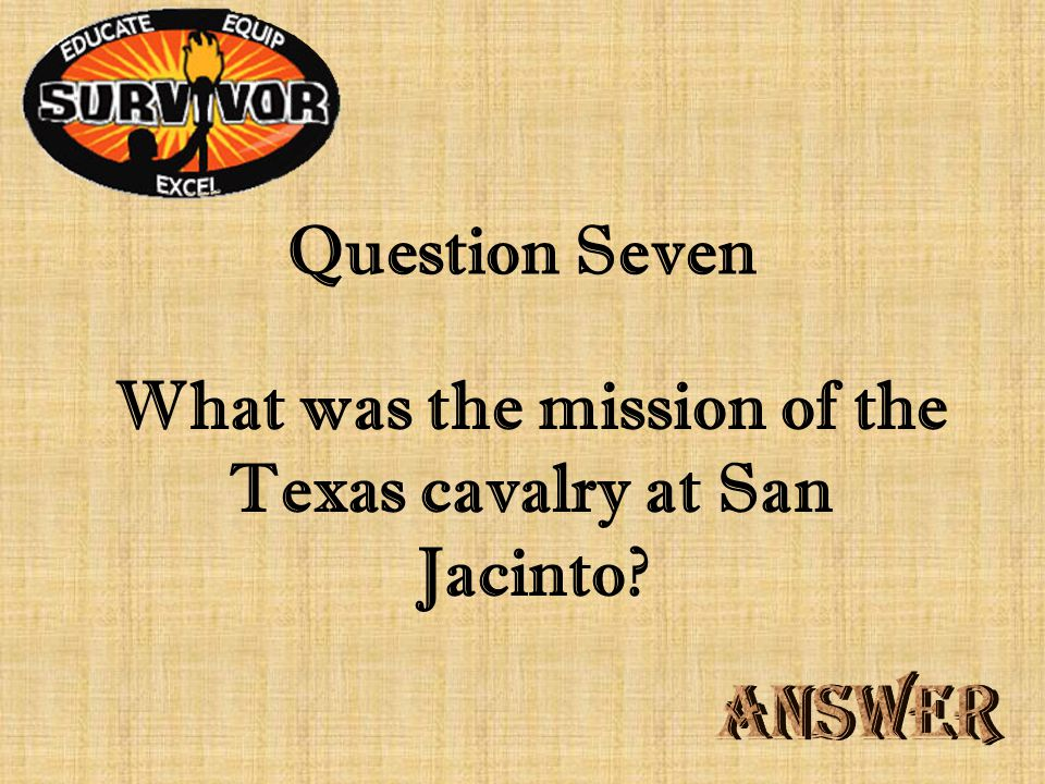 Challenge Six Who was the army scout who destroyed the bridge across Vince's Bayou
