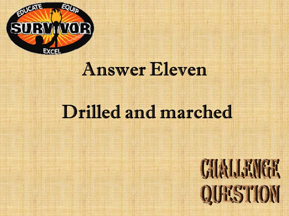 Question Eleven What did Houston's army do at Groce's Plantation?