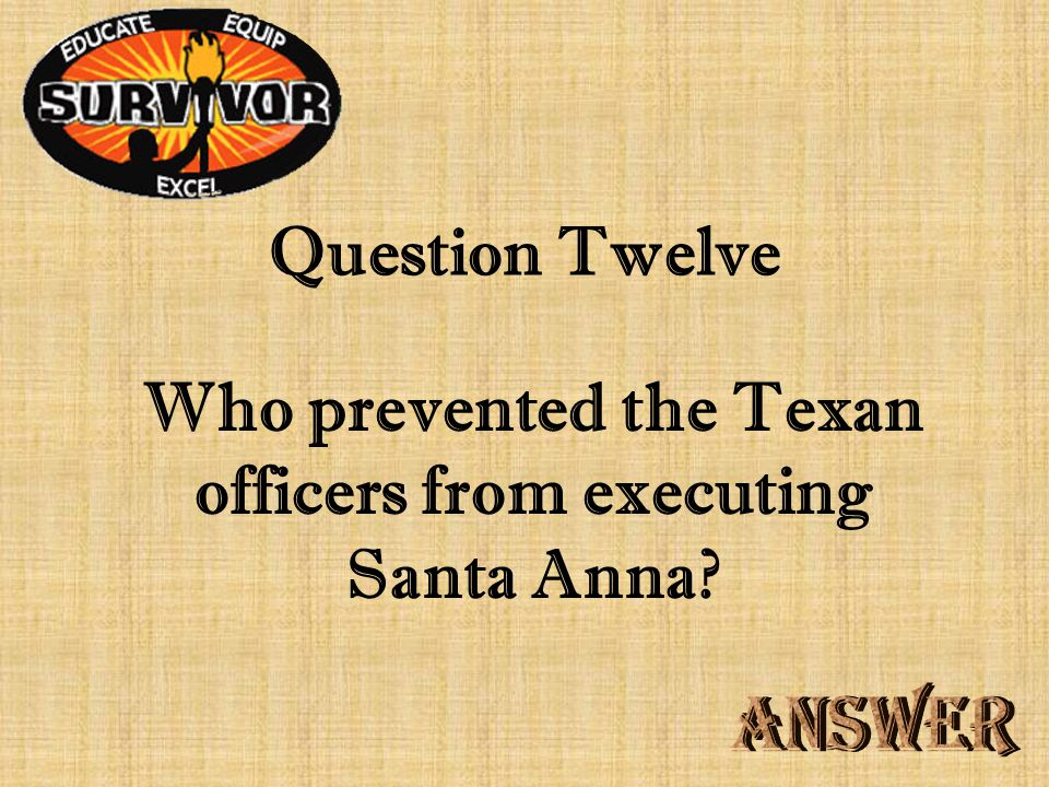 Challenge Eleven Where was the capital of Texas moved after the Battle of San Jacinto