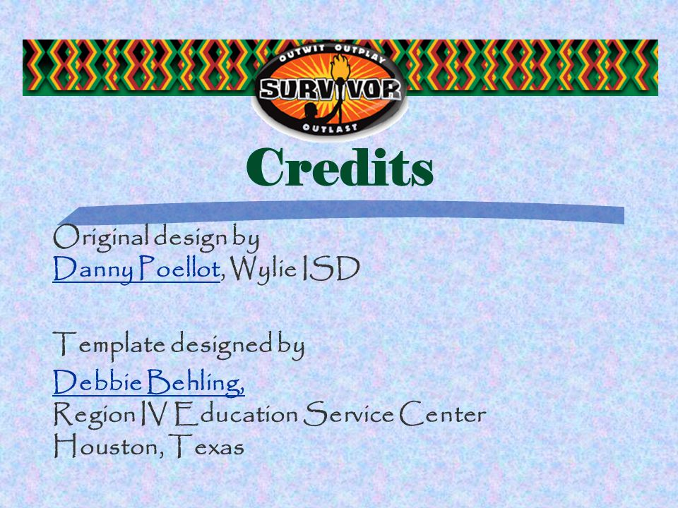 TOPIC Survivor Congratulations. You are now an official TOPIC Survivor.