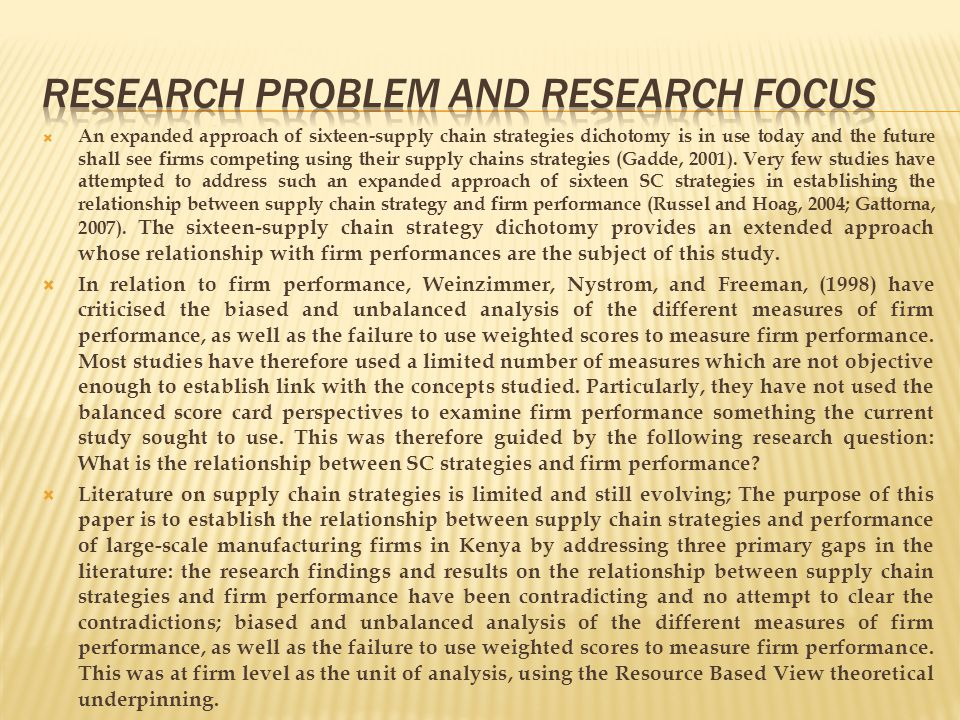 A sample of one hundred and thirty eight (138) firms was drawn using proportionate sampling from a total population of six hundred and twenty seven (627) large scale manufacturing firms in Kenya firms.