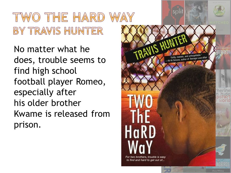 No matter what he does, trouble seems to find high school football player Romeo, especially after his older brother Kwame is released from prison.