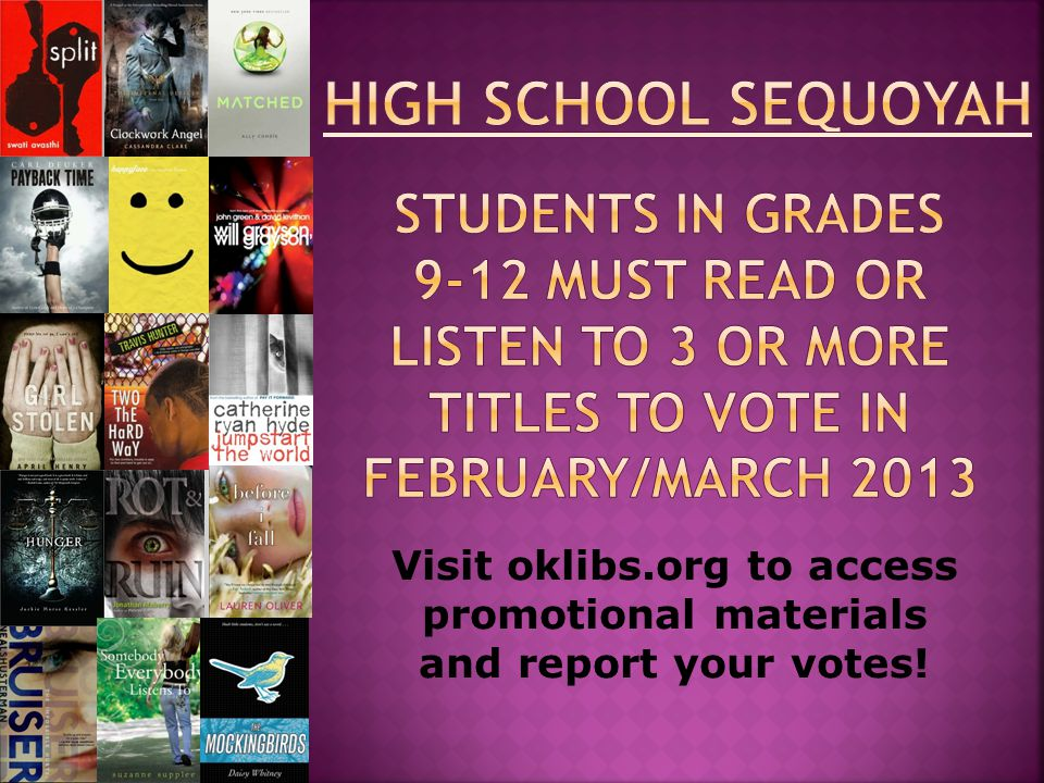 Visit oklibs.org to access promotional materials and report your votes!