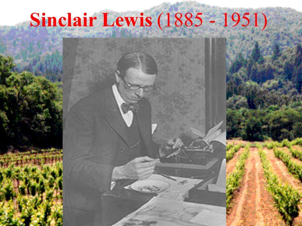 Sinclair Lewis (1885 - 1951)