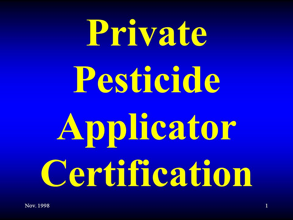 22 Commercial Licenses Cat.910 Demonstration and Research Pest Control; Cat.