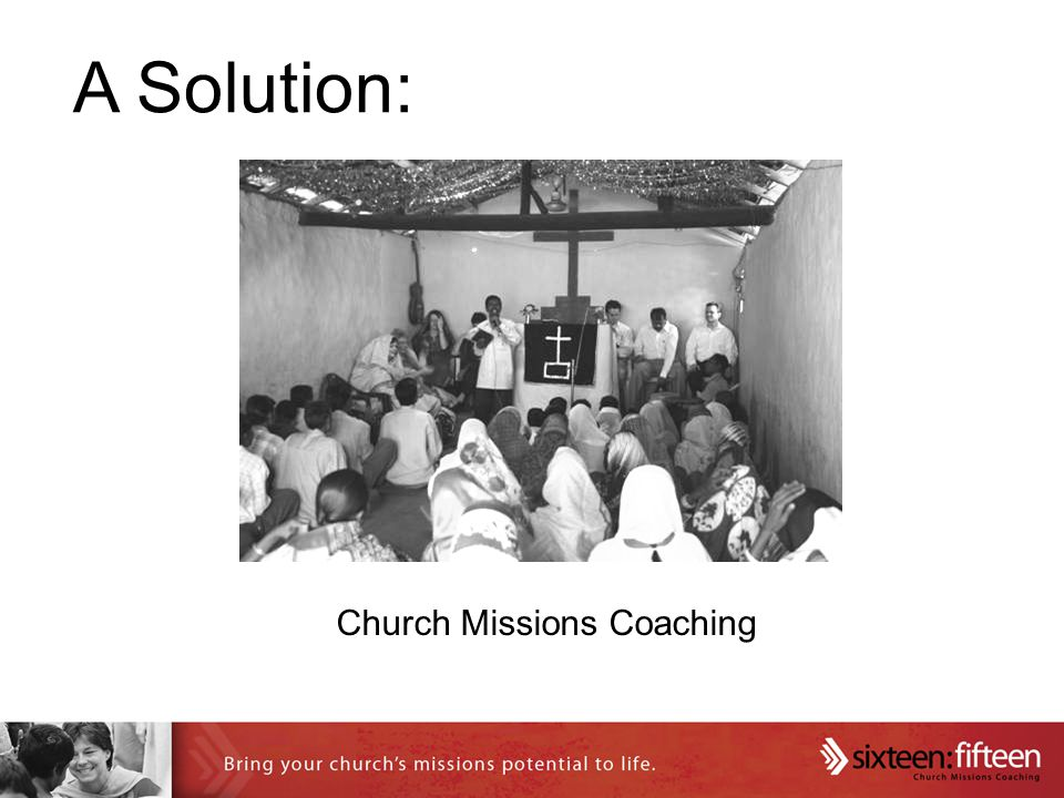 A Solution: Church Missions Coaching