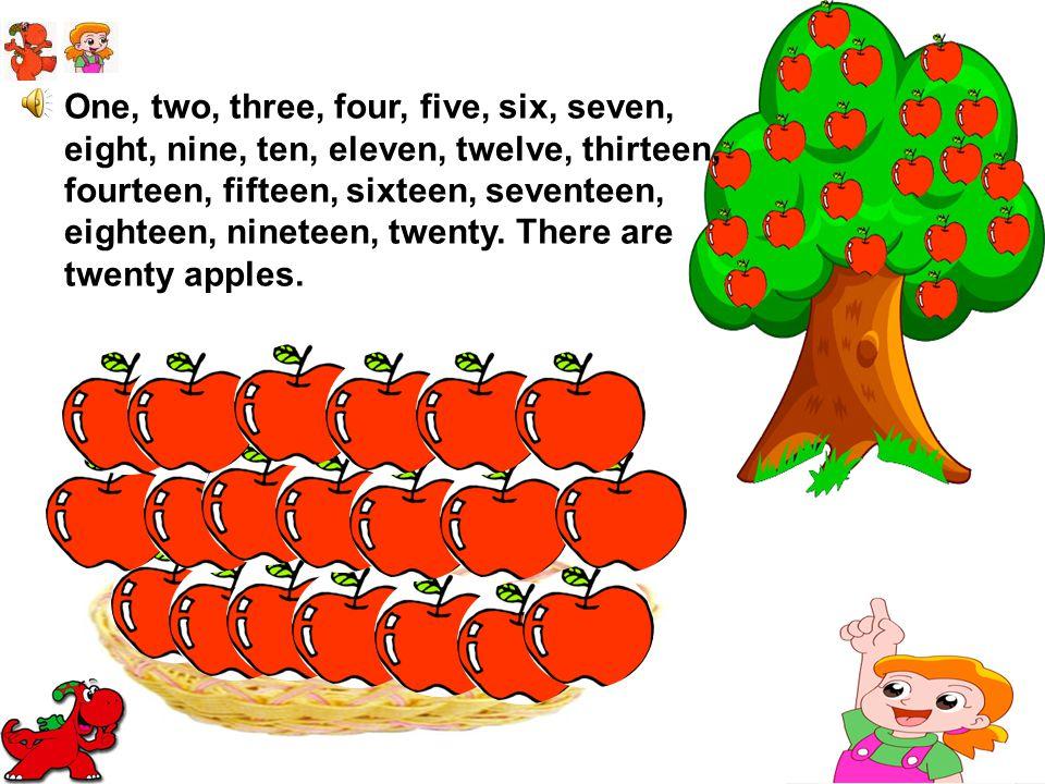 One, two, three, four, five, six, seven, eight, nine, ten, eleven, twelve, thirteen, fourteen, fifteen, sixteen, seventeen, eighteen, nineteen, twenty.