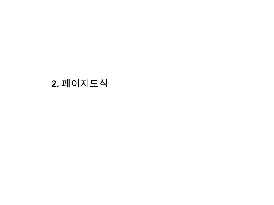 2. 페이지도식