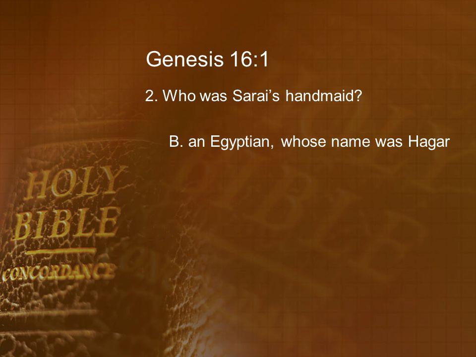 Genesis 16:9 18.