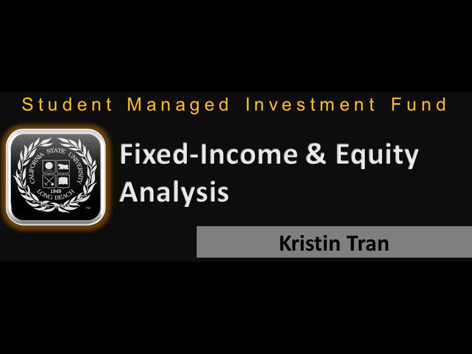 Student Managed Investment Fund Kristin Tran
