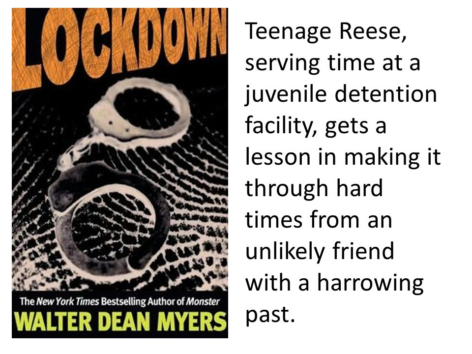 Teenage Reese, serving time at a juvenile detention facility, gets a lesson in making it through hard times from an unlikely friend with a harrowing past.