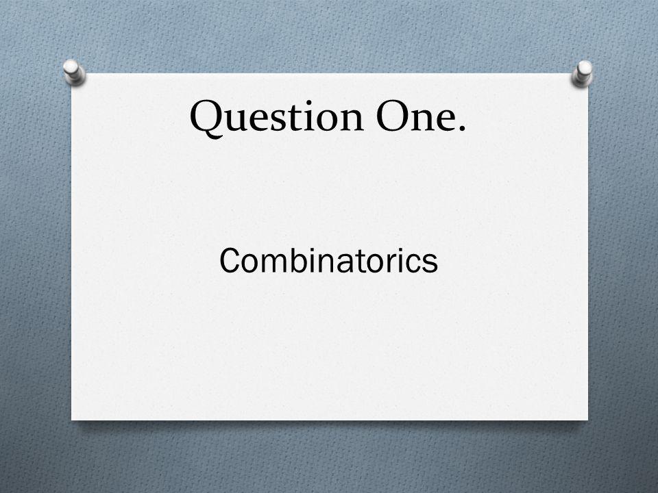 Question Fourteen. 1/4