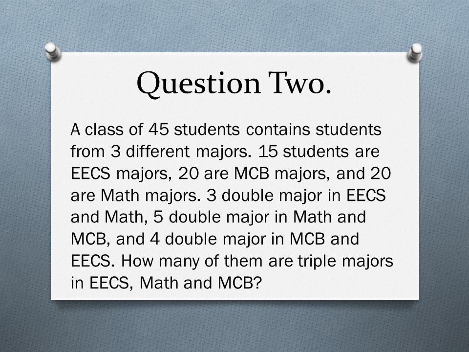 Question Six. Number Theory