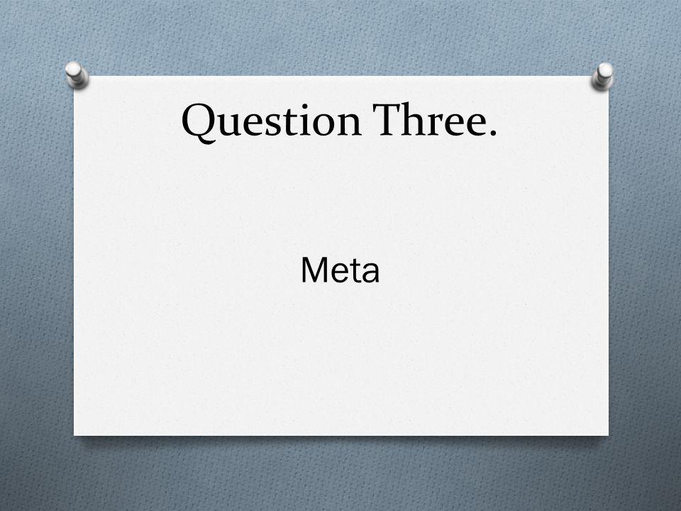 Question Ten. Algebra