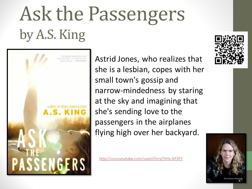 Ask the Passengers by A.S.