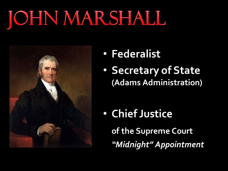 Sixteen new federal circuit judges The Midnight Judges Act Sixteen federal judges with life tenure would be able to undermine Jefferson and the Republicans from the bench.