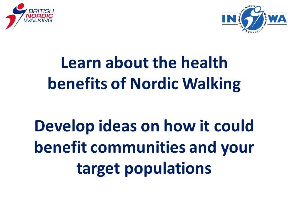 Who goes Nordic Walking?