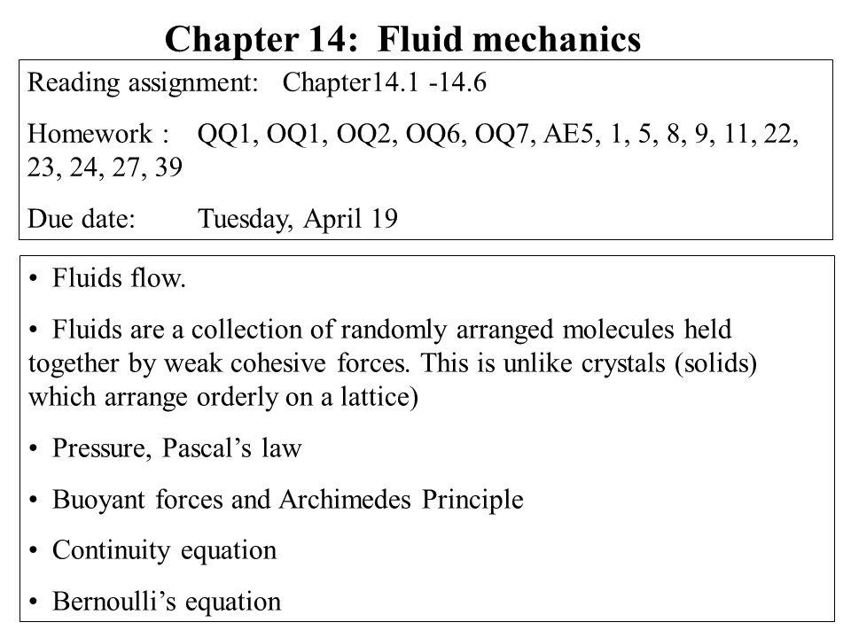 Pressure F… force A… area Unit of pressure: 1 Pascal; 1Pa = 1 N/m 2