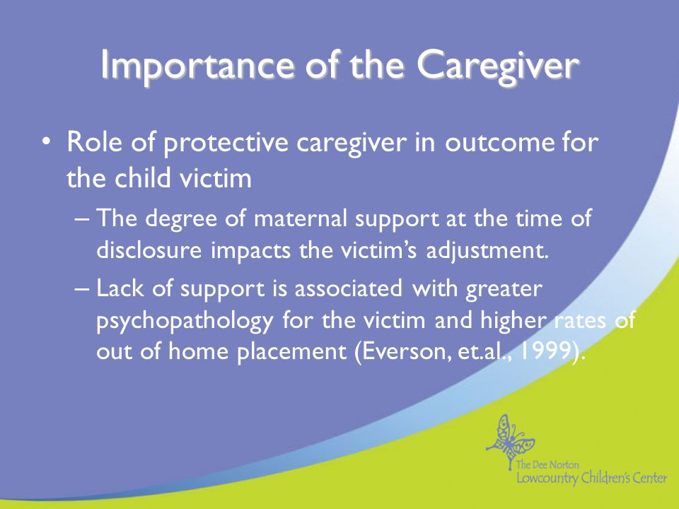 Measurable Behavioral Change Although there is no guarantee of any protective interventions, the Protection Clarification provides clear behavioral responses by the caregiver that are specifically designed to protect the child Past barriers to child safety have been identified and interventions have been made to overcome those barriers and to reduce risk to the child.