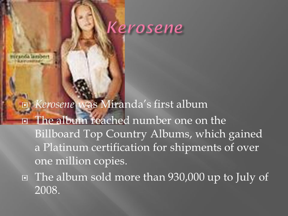  In 2001, she received a lot of support and financial help from her family to help promote her first recording, an independent self-titled CD.  Two
