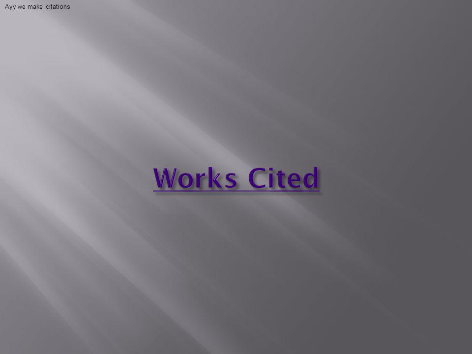 Ayy we make citations