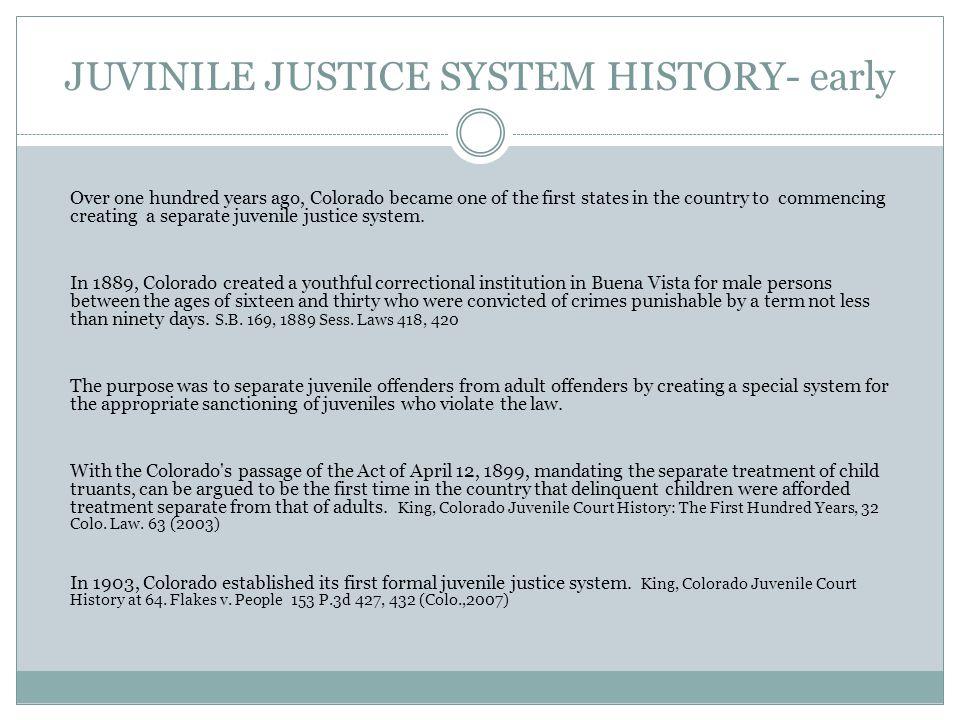 DELINQUENCY Judicial 101 – Juvenile Law