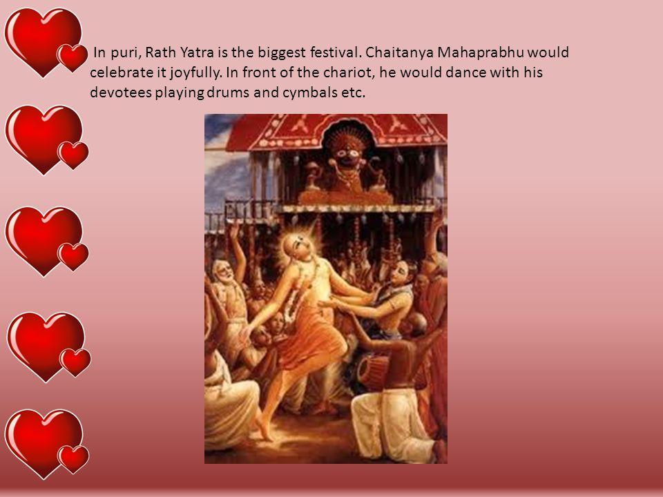 Mahaprabhu's mercy on Leper