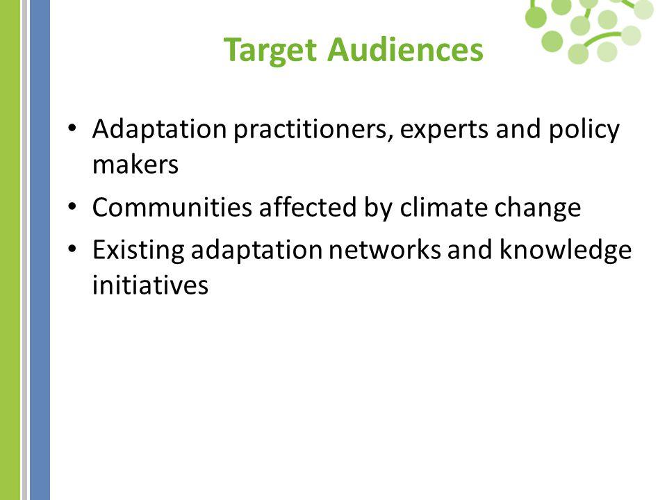 Websites Global Adaptation Network: www.GANadapt.org REGATTA: www.unep-rolac.org/climatechange APAN: www.asiapacificadapt.net