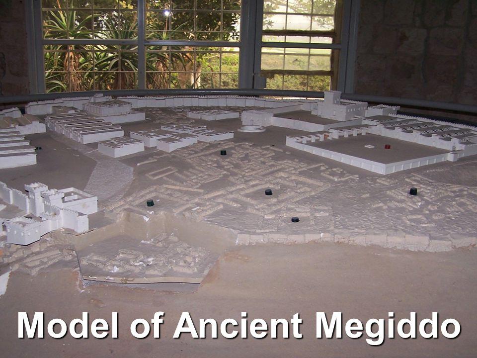 Model of Ancient Megiddo