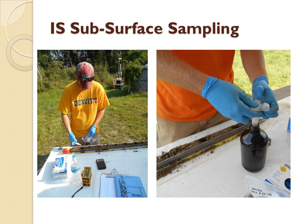 IS Sub-Surface Sampling