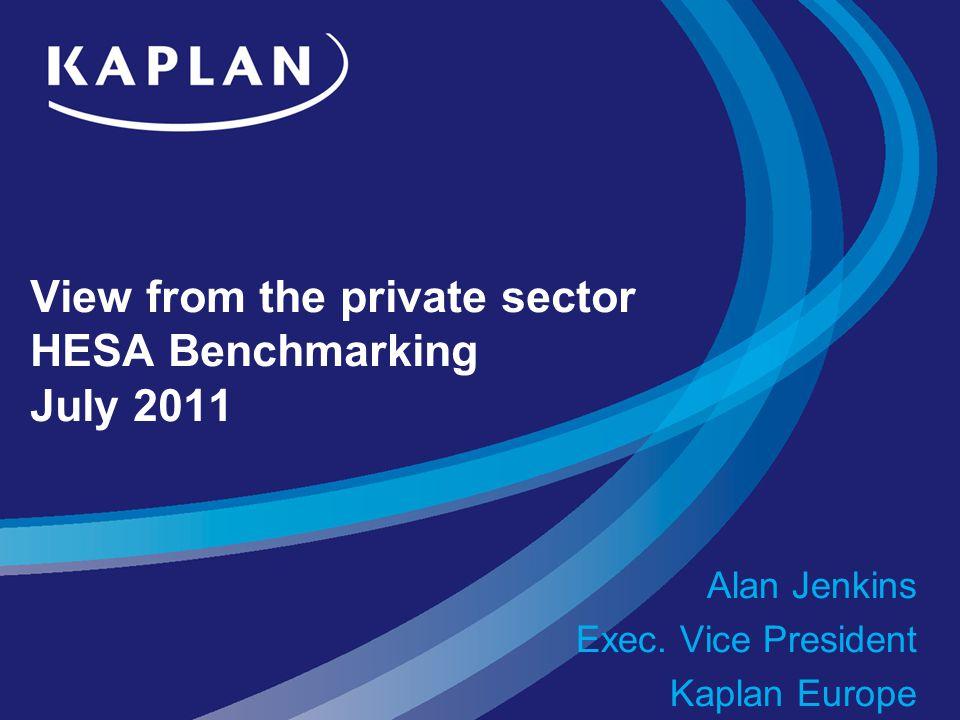 Agenda Overview of KaplanKaplan EuropeBenchmarkingUniversity partnersPathwaysOpen Learning