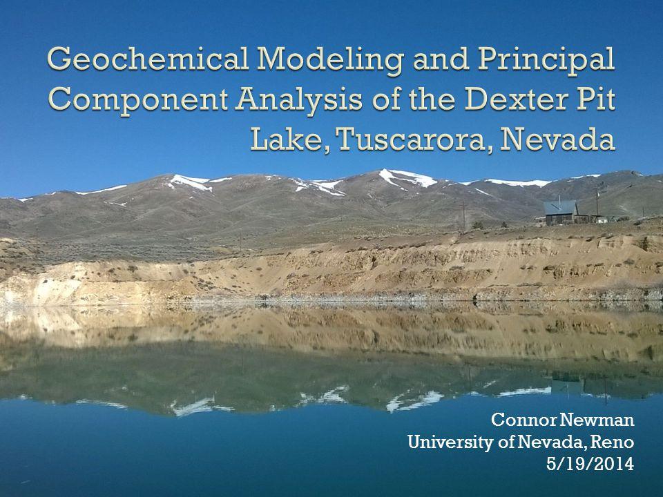 Connor Newman University of Nevada, Reno 5/19/2014