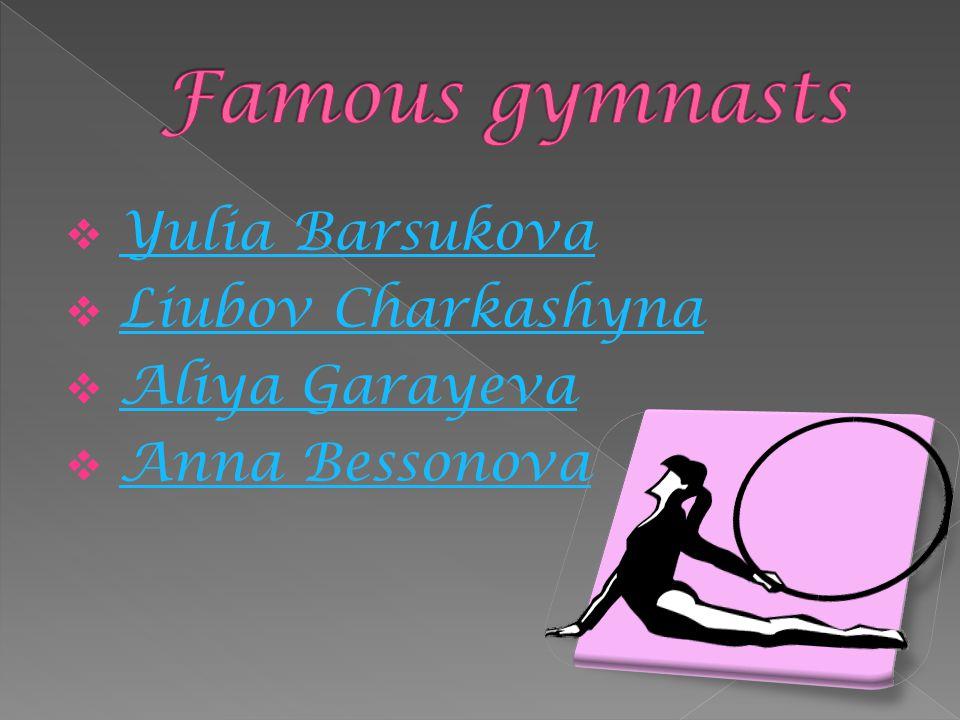  Yulia Barsukova Yulia Barsukova  Liubov Charkashyna Liubov Charkashyna  Aliya Garayeva Aliya Garayeva  Anna Bessonova Anna Bessonova