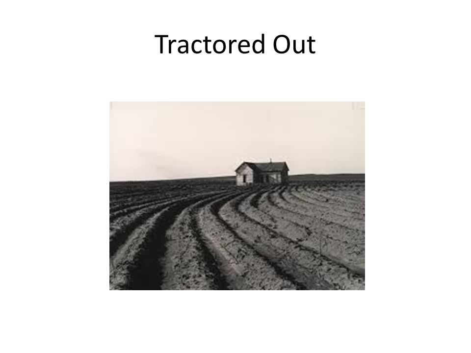Tractored Out